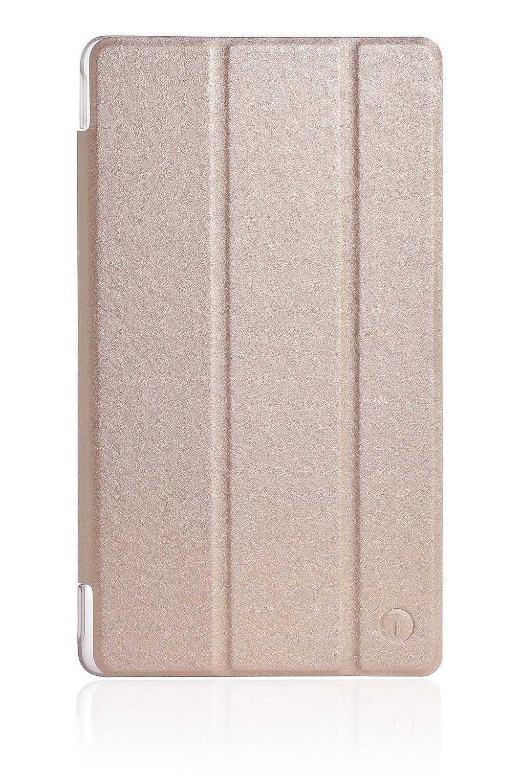 """Чехол для планшета iNeez Smart книжка для Huawei Mediapad T3 7.0"""", золотой"""