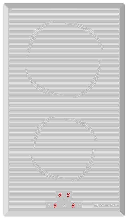 Варочная панель CIS 030.30 WX, белый