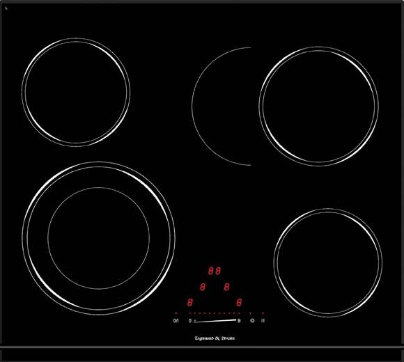 Варочная панель CNS 333.60 BK, черный
