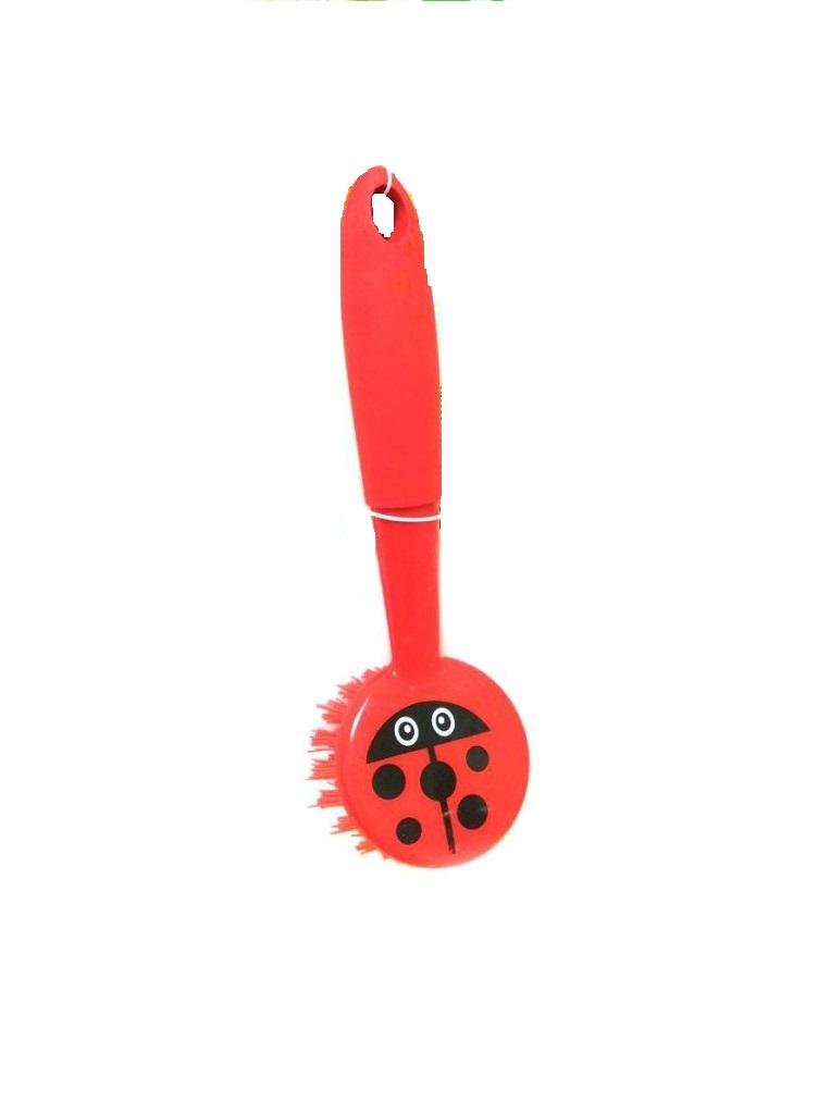 Щетка для посуды Migliores Щётка для мытья посуды, красный щетка для посуды markethot двусторонняя щётка для мытья посуды