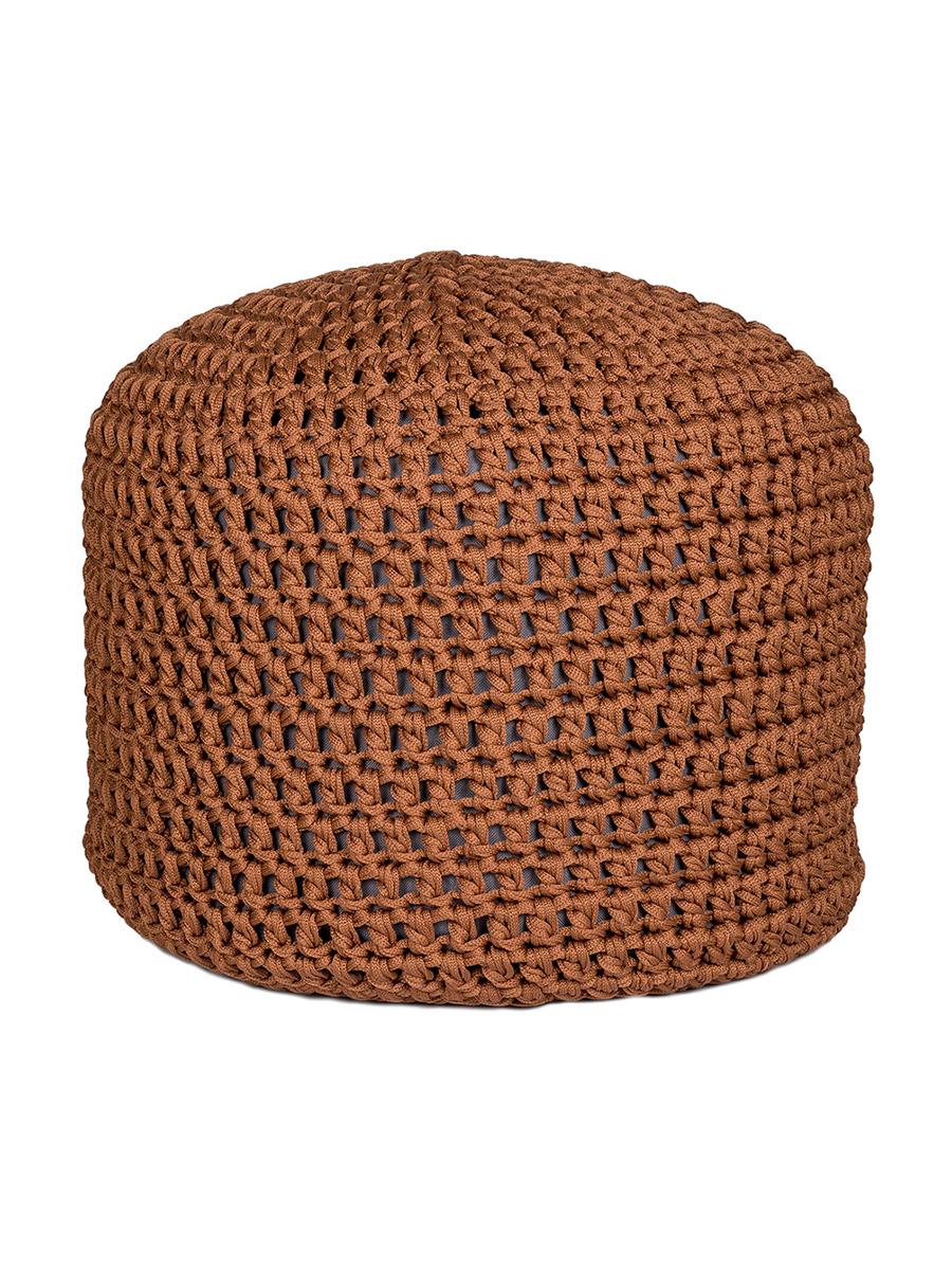 Пуф Feter шнур/коричневый, коричневый цена