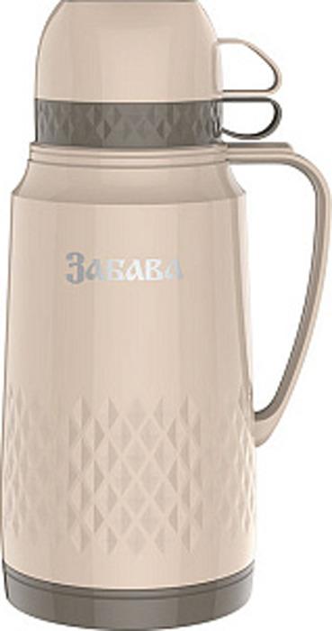 Фото - Термос Забава, РК-1801, бежевый, коричневый, 1,8 л [супермаркет] jingdong геб scybe фил приблизительно круглая чашка установлена в вертикальном положении стеклянной чашки 290мла 6 z