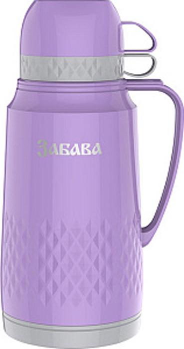 Фото - Термос Забава, РК-1801, сиреневый, серый, 1,8 л [супермаркет] jingdong геб scybe фил приблизительно круглая чашка установлена в вертикальном положении стеклянной чашки 290мла 6 z