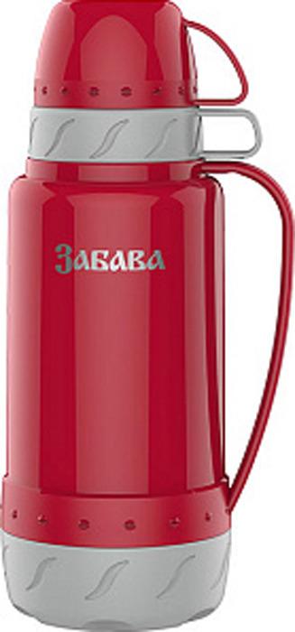 Фото - Термос Забава, РК-1802, красный, серый, 1,8 л [супермаркет] jingdong геб scybe фил приблизительно круглая чашка установлена в вертикальном положении стеклянной чашки 290мла 6 z