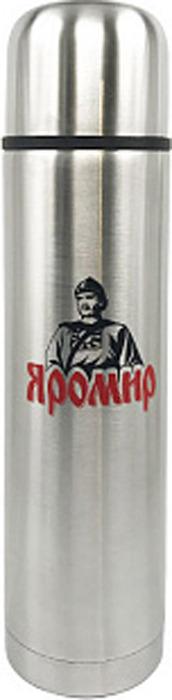Термос Яромир, ЯР-2011M, серебристый, 1 л