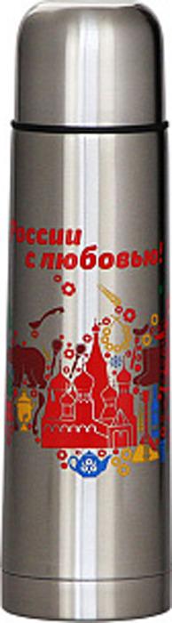 Термос Забава Россия, РК-0501М, серебристый, 500 мл