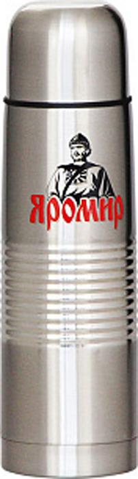 Термос Яромир, ЯР-2031М, серебристый, 750 мл