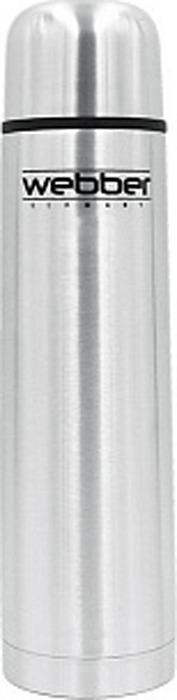 Термос Webber, SS-750P, серебристый, 750 мл