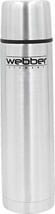 Термос Webber, SSK-750P, серебристый, 750 мл