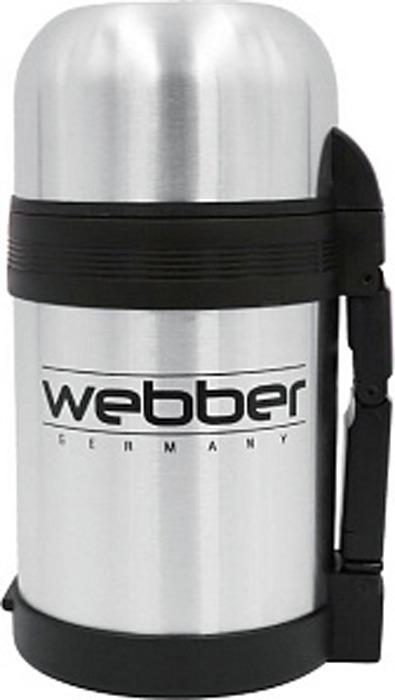 Термос Webber, SST-800P, серебристый, 800 мл