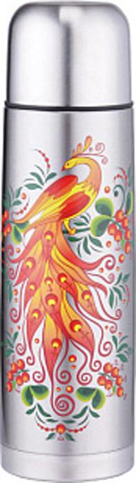 Термос Забава Жар-птица, РК-0750М/1, серебристый, 750 мл цена