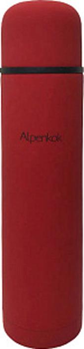 Термос Alpenkok, AK-07502M, красный, 750 мл