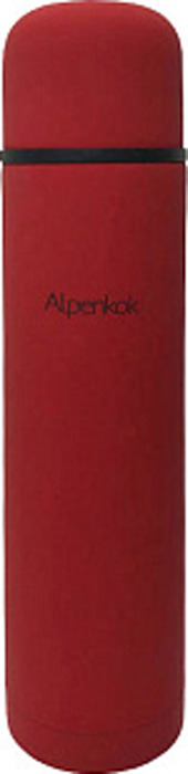 Термос Alpenkok, AK-10040M, красный, 1 л
