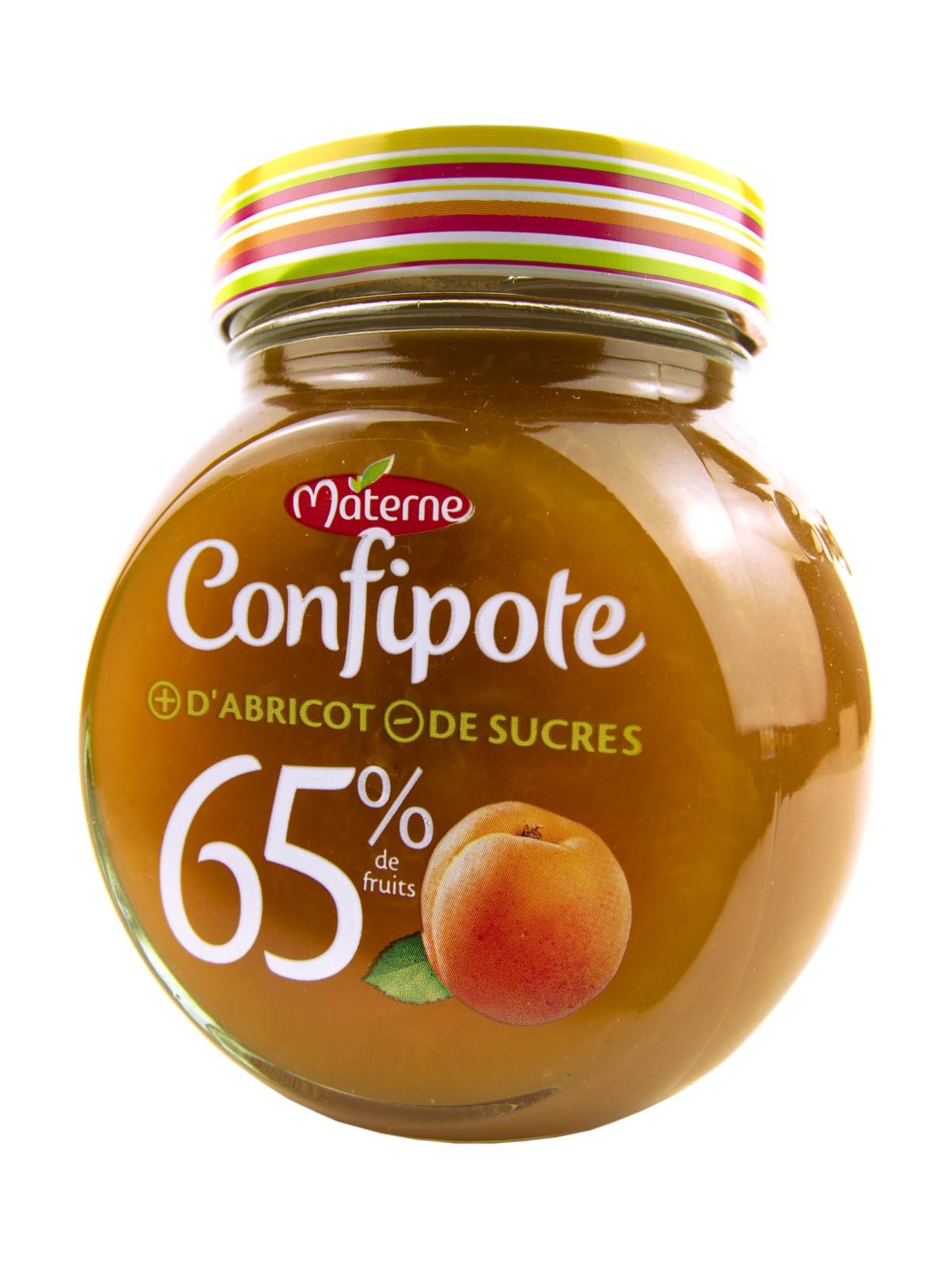 Абрикосовое варенье Materne Confipote с пониженным содержанием сахара, 350 г., Франция александр солженицын эго абрикосовое варенье все равно адлиг швенкиттен