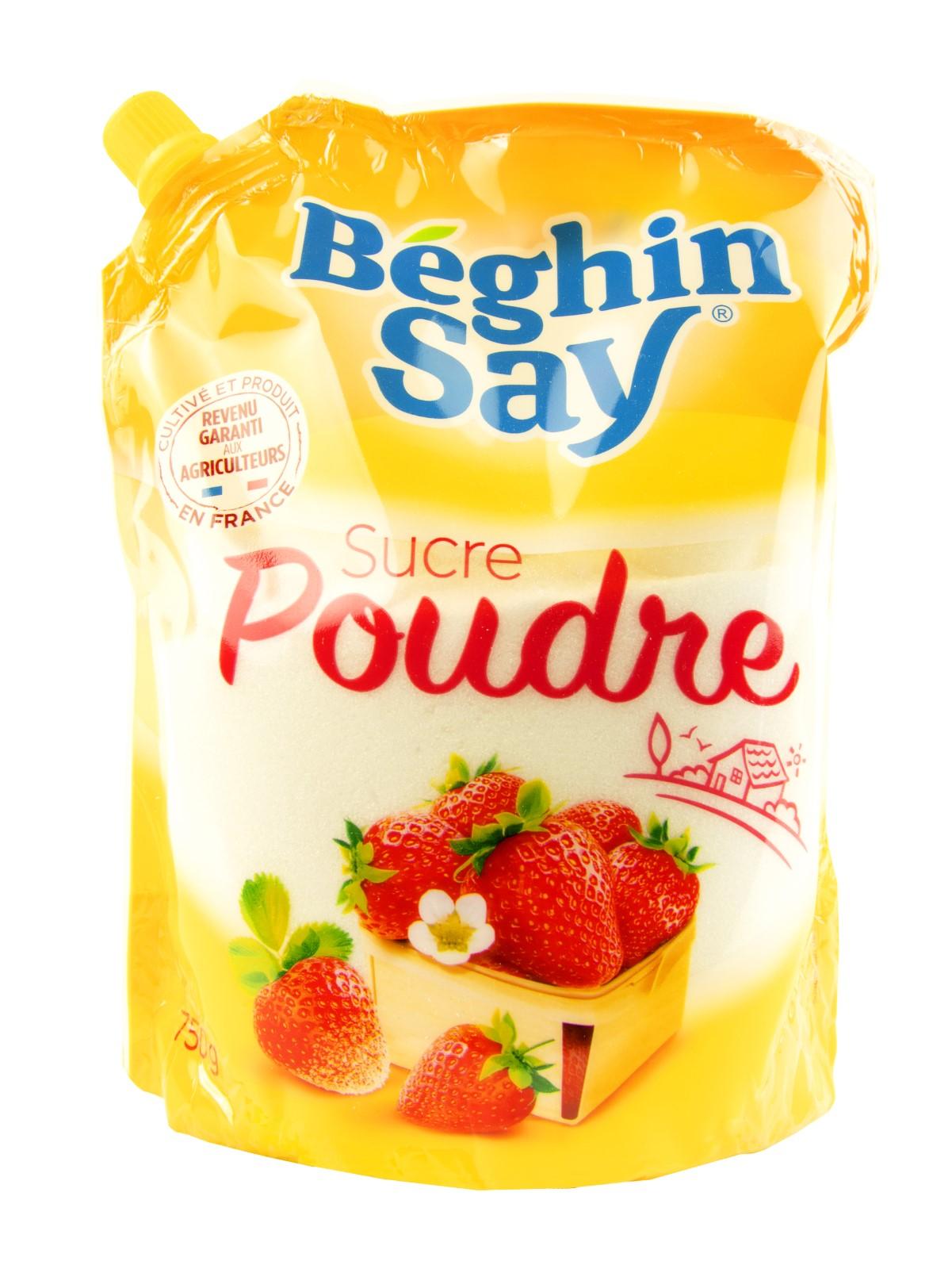Сахарная пудра Beghin Say 750 г., Франция