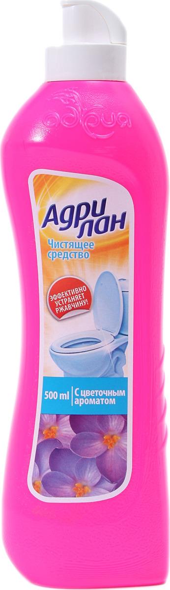 Средство для ванной и туалета Адрия Адрилан, с цветочным ароматом, 500 мл стоимость