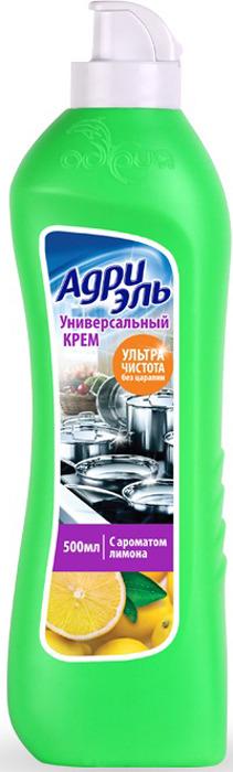 Крем универсальный для кухни Адрия Адриэль, с ароматом лимона, 500 мл универсальный чистящий крем nordland