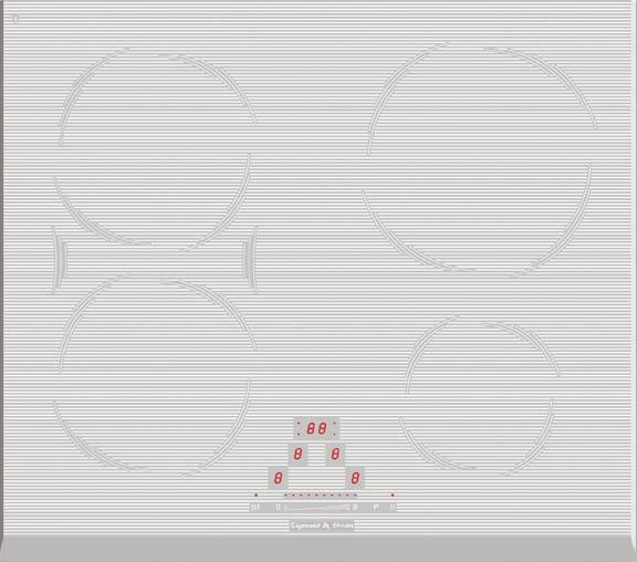 Варочная панель CIS 189.60 WX, белый
