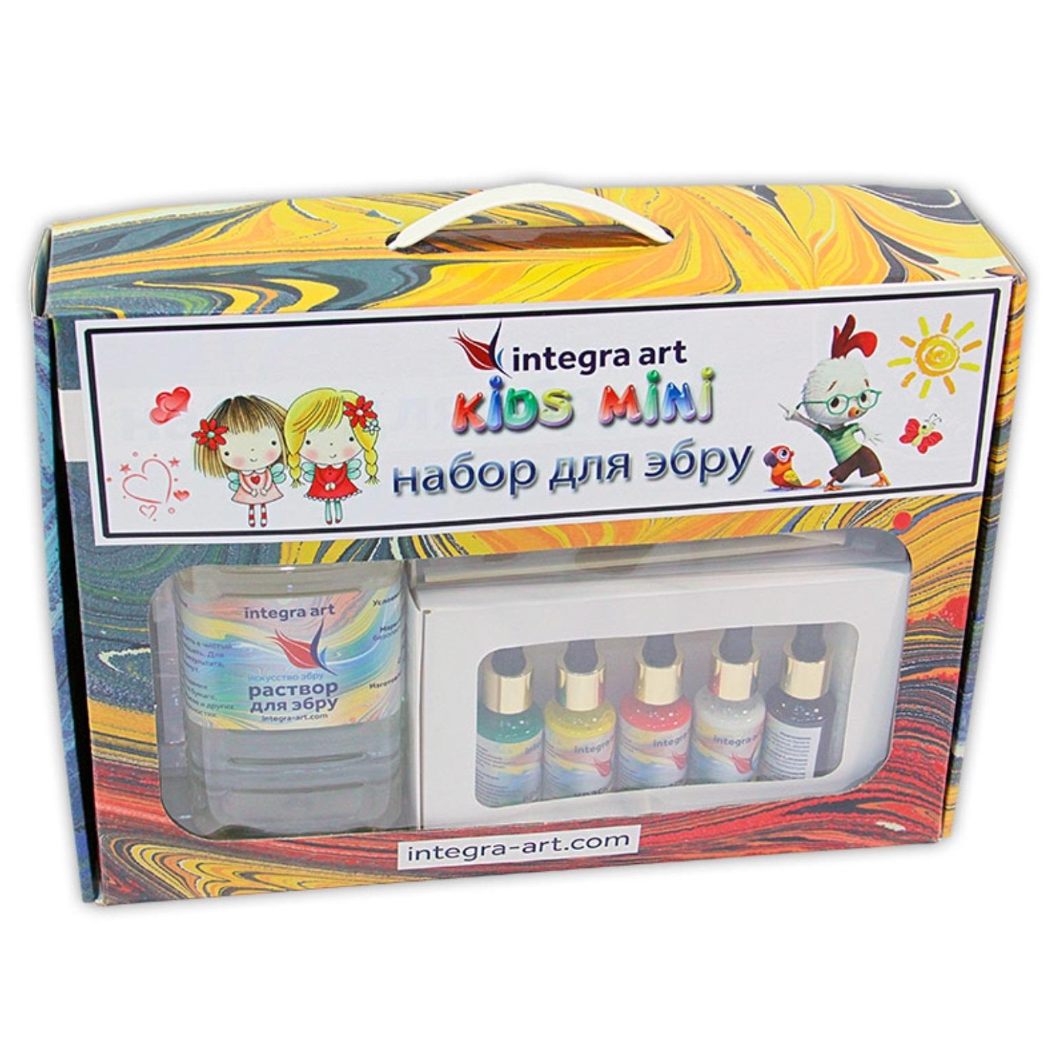 Набор для рисования Integra Art Эбру Kids Mini