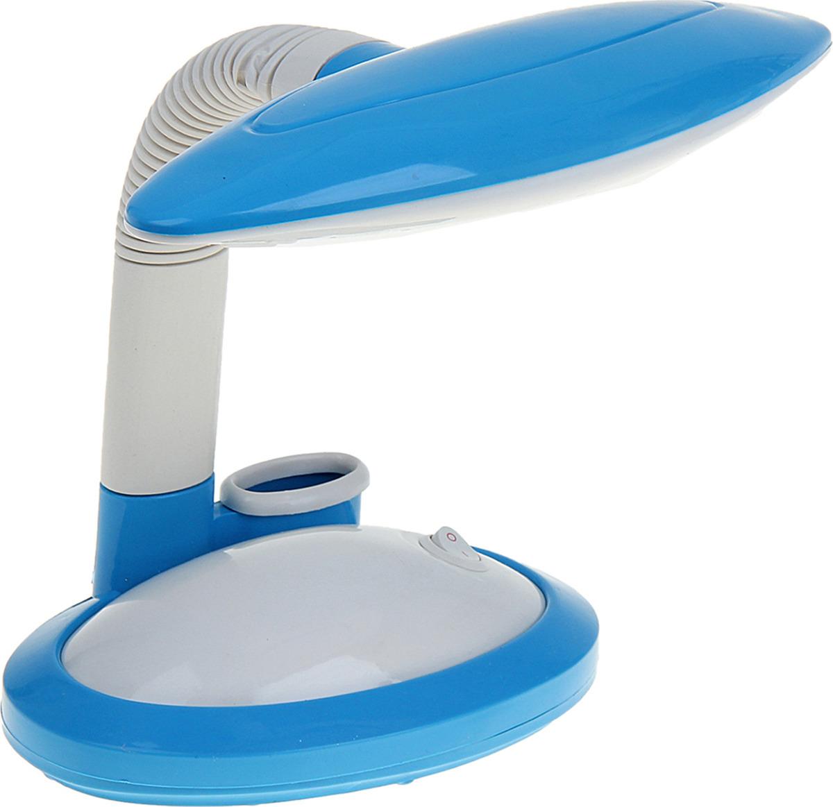 Настольный светильник Risalux, LED, 1050324, голубой, 16 х 16 х 25 см