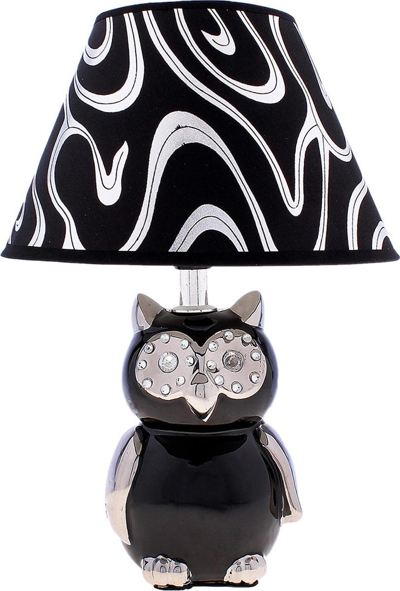 Настольный светильник Risalux Ночная сова E27, E27 настольный светильник risalux орфей e27 3218468 коричневый 28 х 28 х 44 см