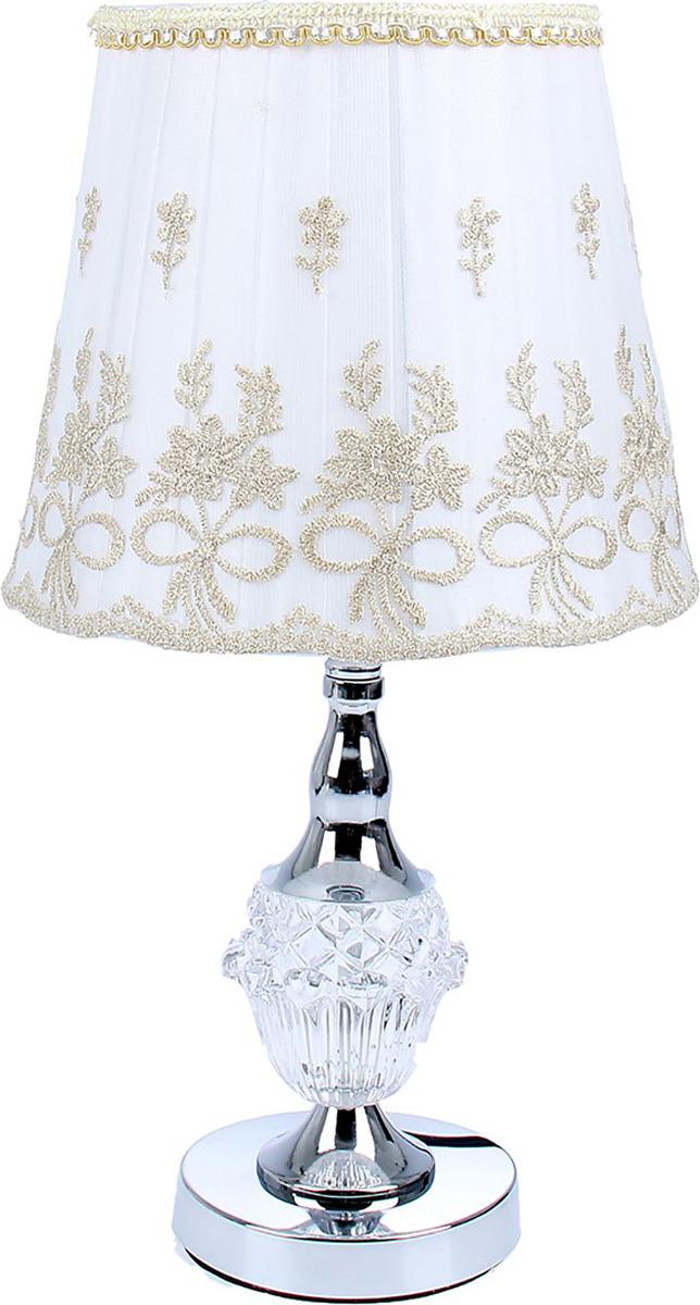 Настольный светильник Risalux Аромат цветов E27, E27 настольный светильник risalux гофре e27 3629891 бежевый 30 х 30 х 44 см