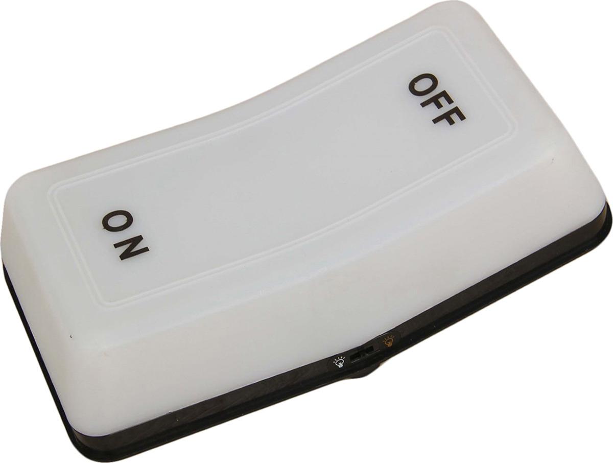 Ночник Risalux Кнопка, LED, 2301271, белый, 9 х 18 х 5 см