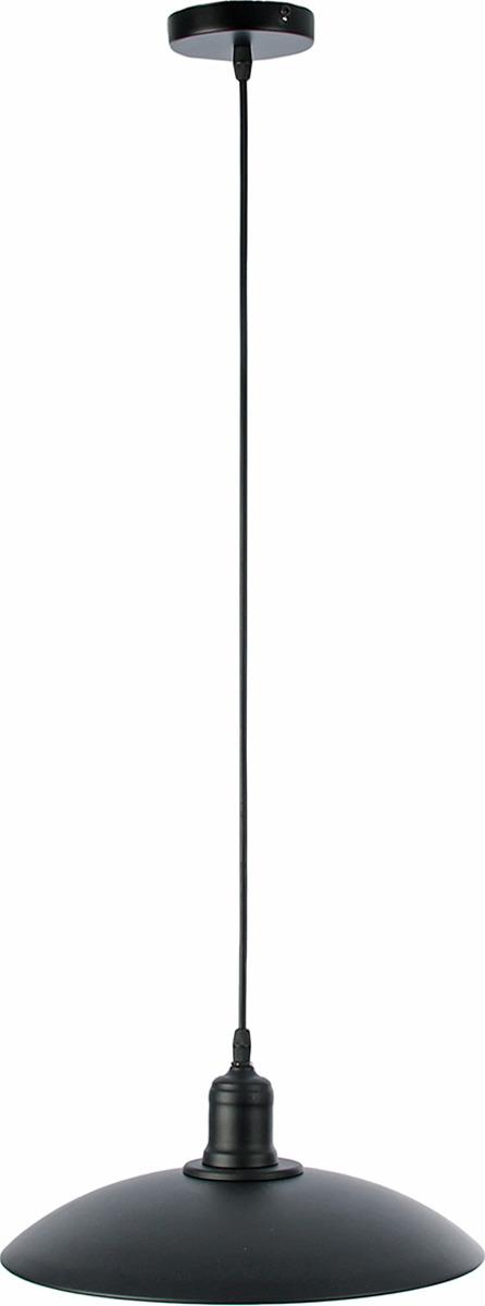Люстра BayerLux Плат, E27, 40W, 2437165, черный, 32 х 32 х 100 см