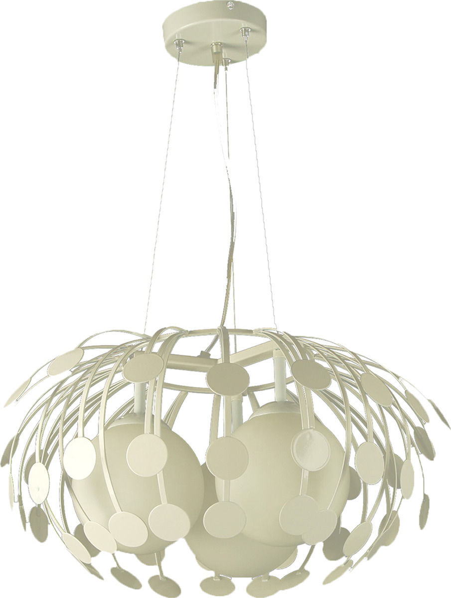 Подвесной светильник BayerLux Пузыри, E27, 40W, 2476740, белый, 45 х 45 х 100 см