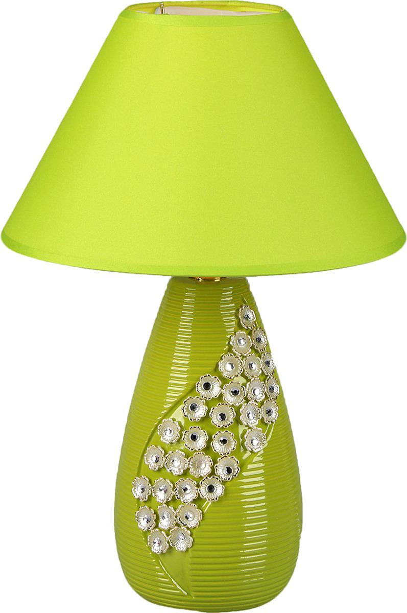 Настольный светильник Risalux Аиша E14, 25W, E14, 25 Вт настольный светильник risalux гармонь e14 25w 3733953 белый 17 х 17 х 24 см