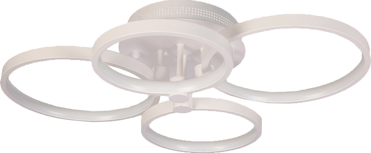 Потолочный светильник BayerLux Круги, LED, 50W, 2629652, белый, 45 х 58 х 10 см