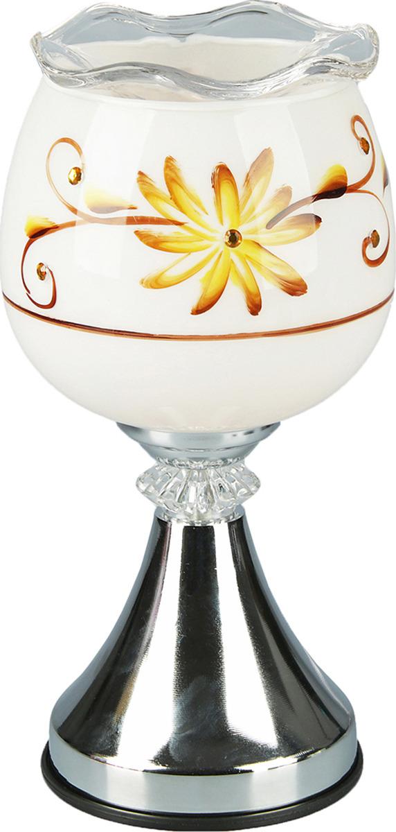 Аромасветильник Risalux Цветок, 2638726, 10 х 26 х 10 см