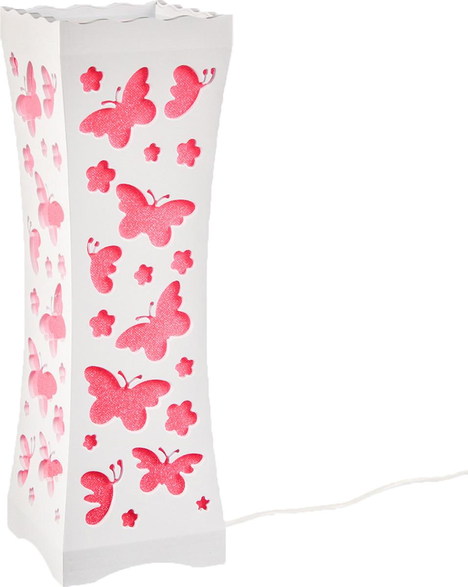 Ночник Risalux Рой бабочек, 3 режима, LED, 2679461, прозрачный, 33 х 10,5 х 10,5 см