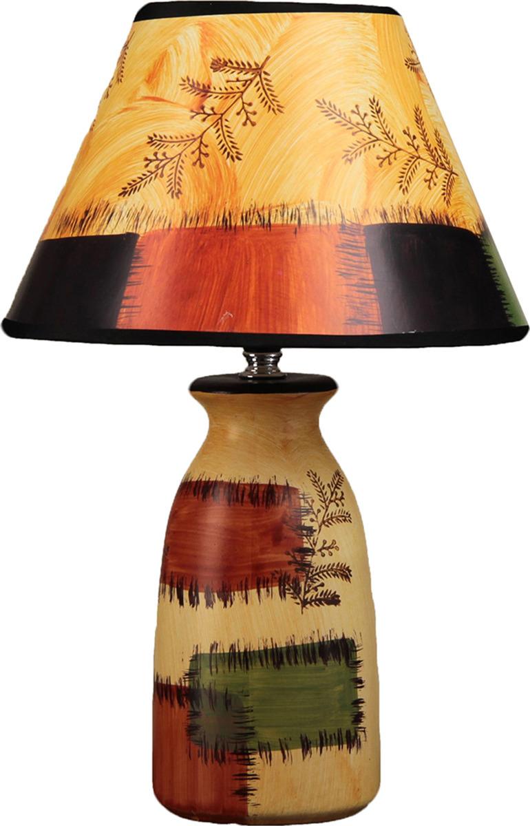 Настольный светильник Risalux Лиственница E14, 25W, E14, 25 Вт настольный светильник risalux вайлет e14 25w 2989708 бежевый 24 х 24 х 37 см