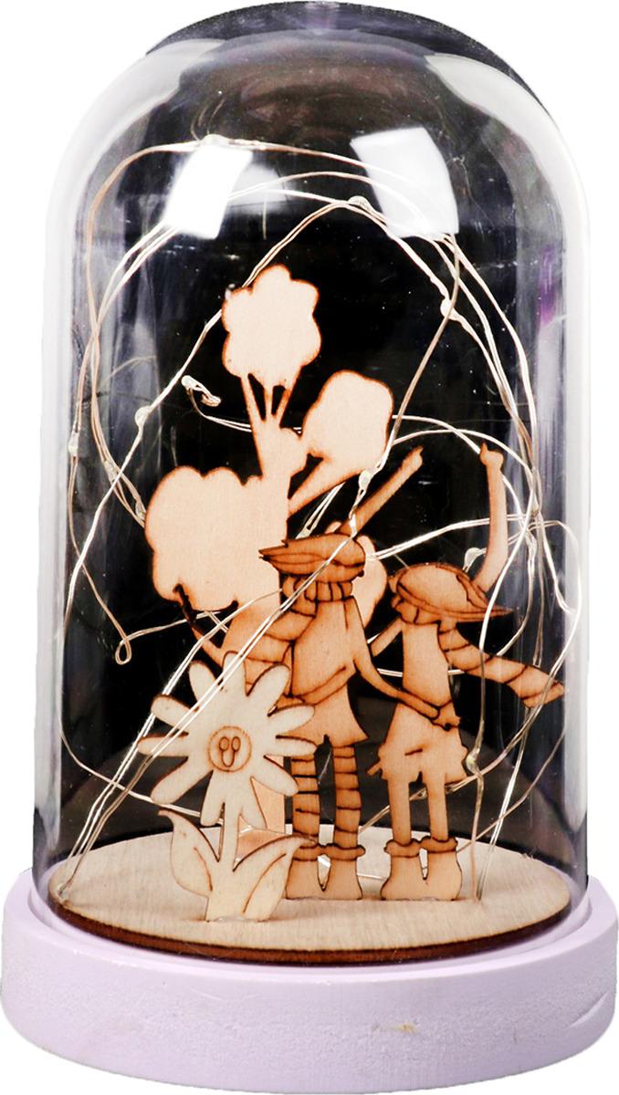 Ночник Risalux Прогулка, LED, 3516414, прозрачный, 20 х 13 х 13 см