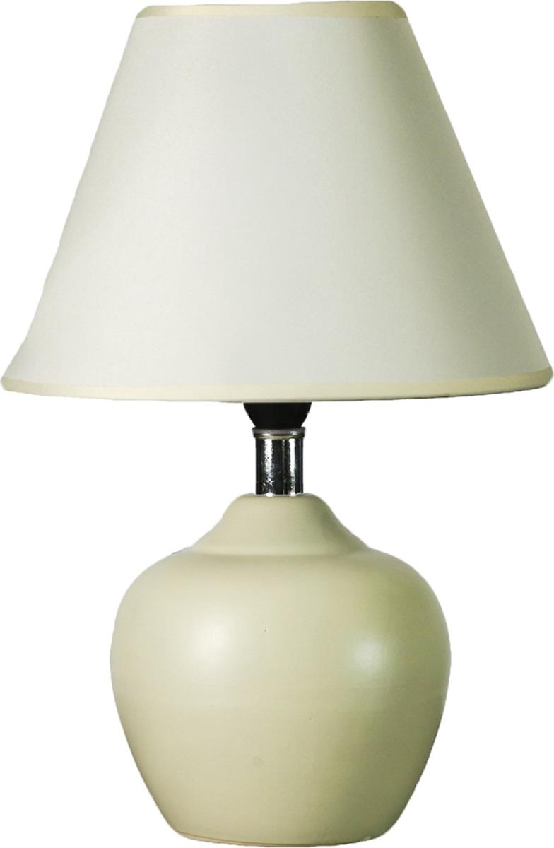 Настольный светильник Risalux Нежность E14, 25W, E14, 25 Вт настольный светильник risalux вайлет e14 25w 2989708 бежевый 24 х 24 х 37 см
