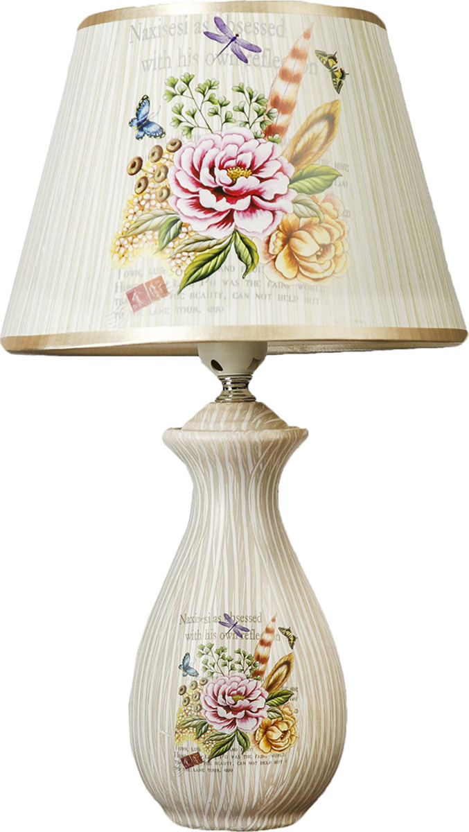 Настольный светильник Risalux Летний сад E27, E27 настольный светильник risalux золотой век e27 1360533 28 х 28 х 47 см