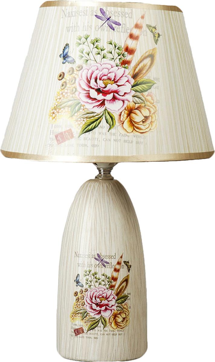 Настольный светильник Risalux Летний сад 2 E27, E27 настольный светильник risalux карамель e27 1188714 32 х 16 х 41 см