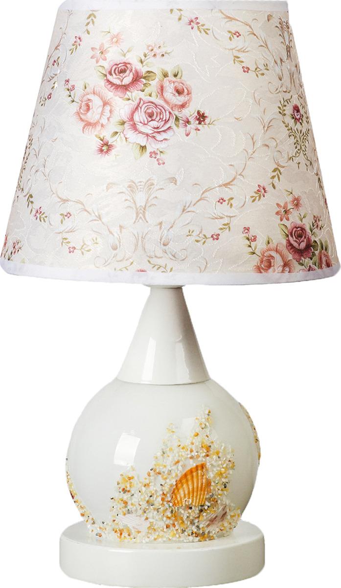 Настольный светильник Risalux Пыльца E27, 40W, E27, 40 Вт настольный светильник risalux каладиум e27 40w 3742781 белый 23 х 23 х 40 5 см