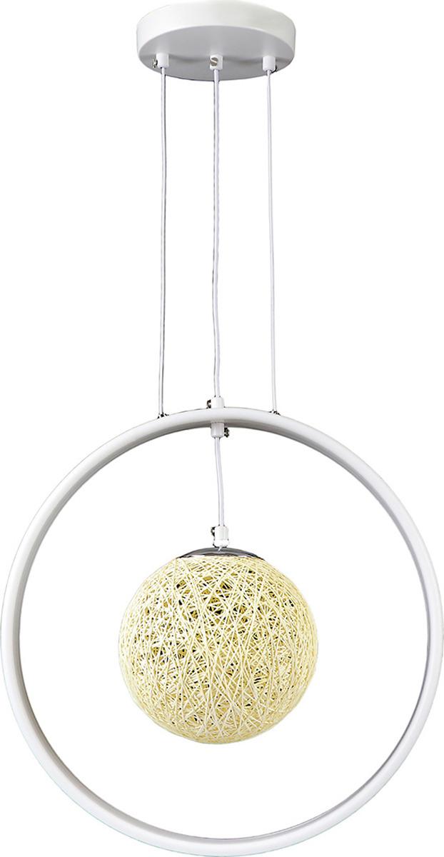все цены на Подвесной светильник BayerLux Сфера, LED, 54W, 3580508, белый, 35 х 20 х 35 см онлайн