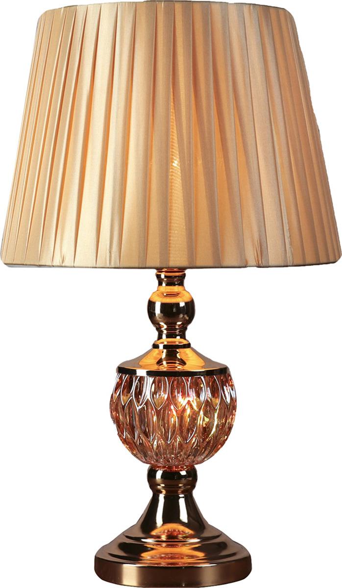 Настольный светильник Risalux Гофре E27, E27 настольный светильник risalux гофре e27 3629891 бежевый 30 х 30 х 44 см