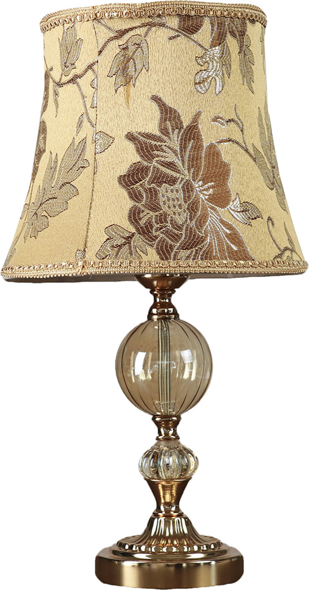 Настольный светильник Risalux Сказочные цветы E27, E27 настольный светильник risalux резные цветы e27 3736887 бежевый 30 х 30 х 48 см