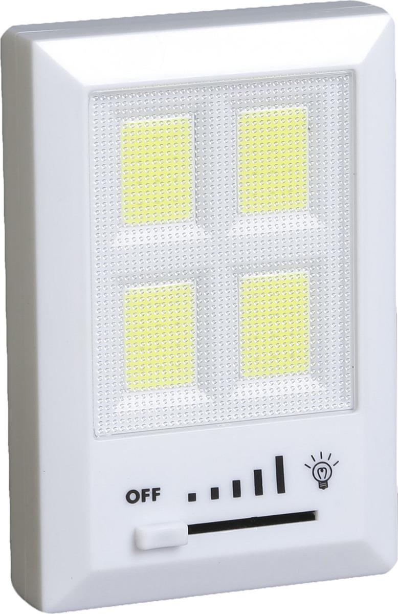 Ночник Risalux Эквалайзер, на магните, LED, 3630389, белый, 7,5 х 2,3 х 11,5 см