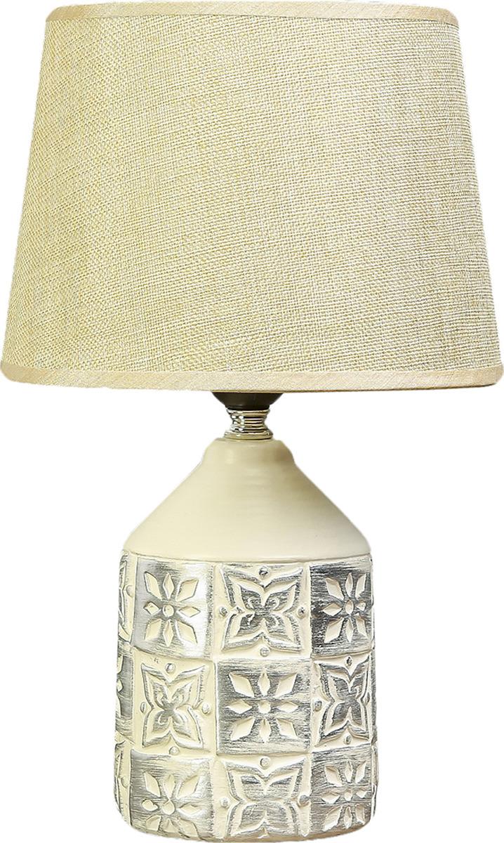 Настольный светильник Risalux Наскальные рисунки E27, 40W, E27, 40 Вт настольный светильник risalux каладиум e27 40w 3742781 белый 23 х 23 х 40 5 см