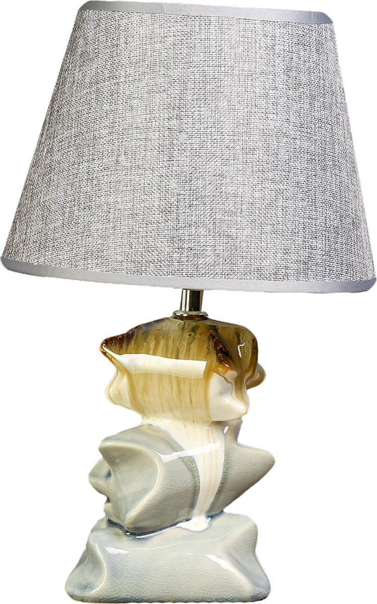 Настольный светильник Risalux Камни E27, 40W, E27, 40 Вт настольный светильник risalux каладиум e27 40w 3742781 белый 23 х 23 х 40 5 см