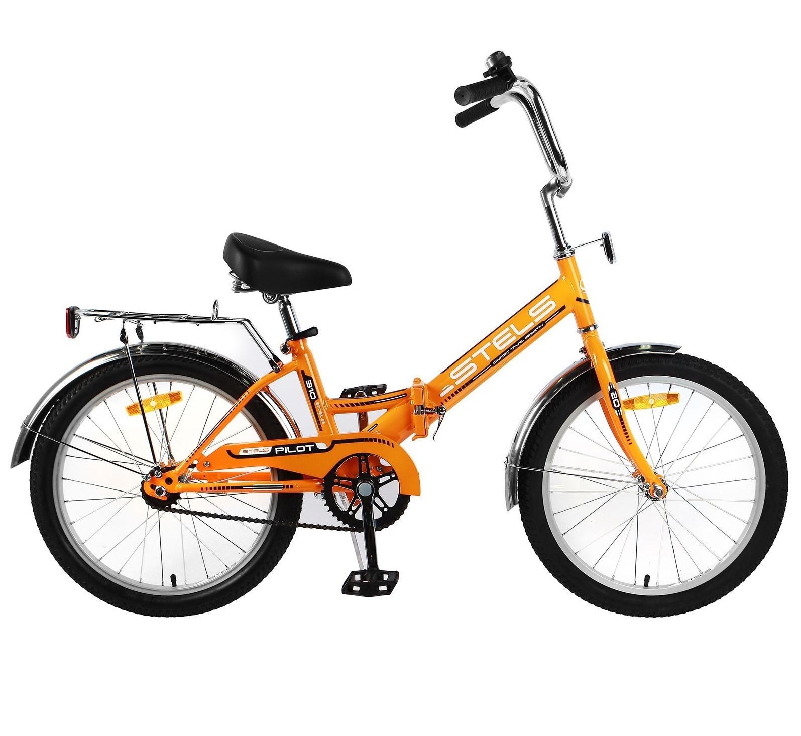 все цены на Велосипед Stels Pilot-310, оранжевый онлайн