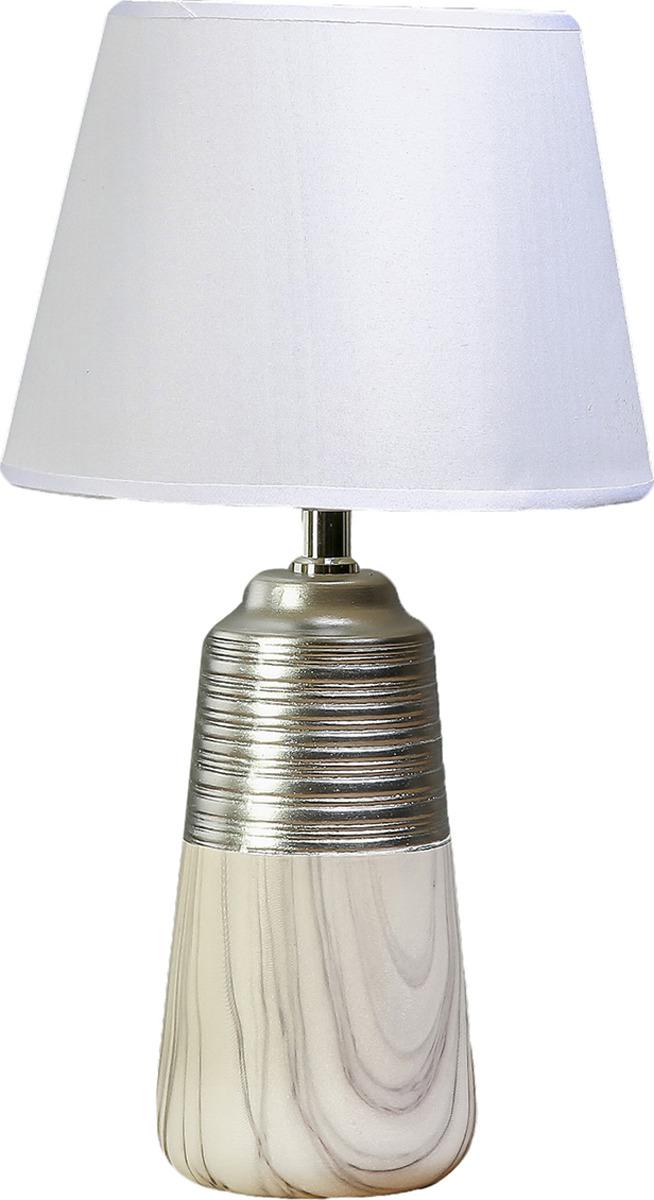 Настольный светильник Risalux Мрамор и серебро E14, 40W, E14, 40 Вт настольный светильник risalux три цветка e14 40w e14 40 вт