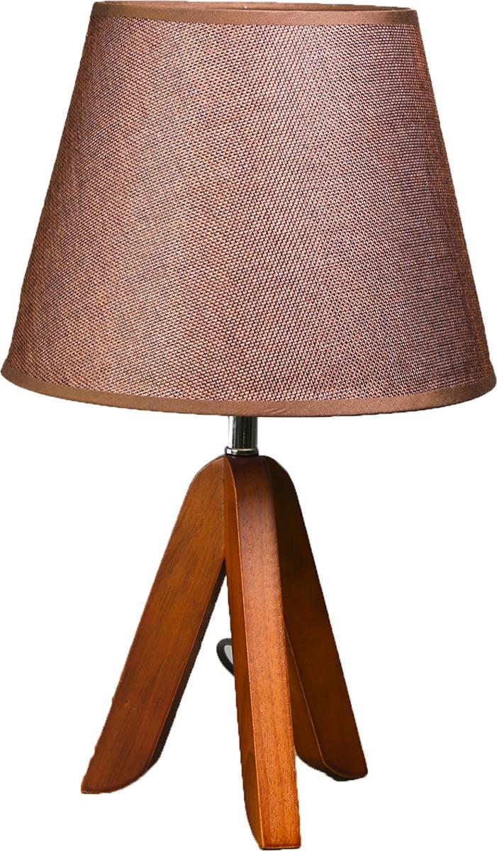 Настольный светильник BayerLux Мадлен, E27, 25W, 3723510, вишневый, 25 х 25 х 40 см