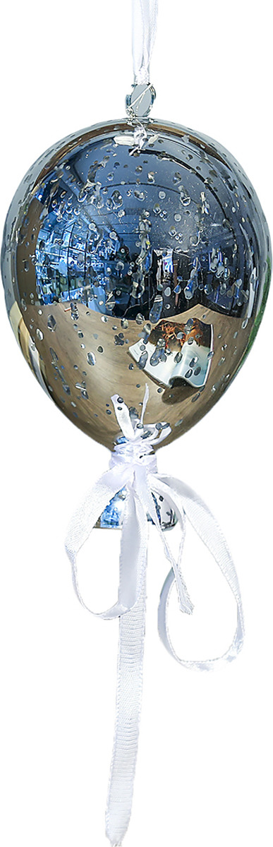 Ночник Risalux Воздушный шар, LED, 3742821, серый, 14 х 14 х 18 см