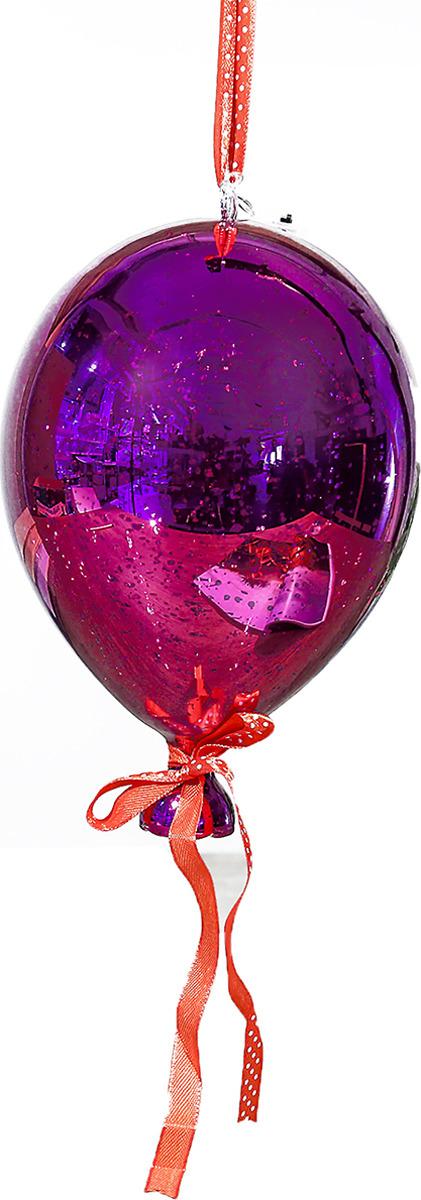 Ночник Risalux Воздушный шар, LED, 3742825, малиновый, 17,5 х 17,5 х 24 см